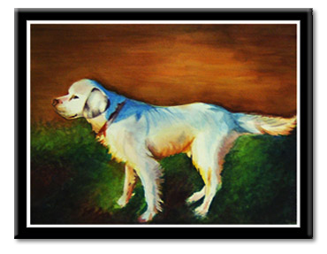 Bird Dog Watercolor